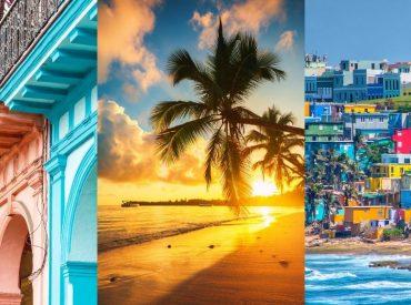 Imagen con algunas peculiaridades del Caribe