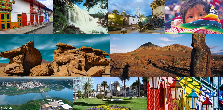Diversas fotos de Suramérica