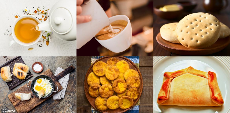 Productos culinarios de la once