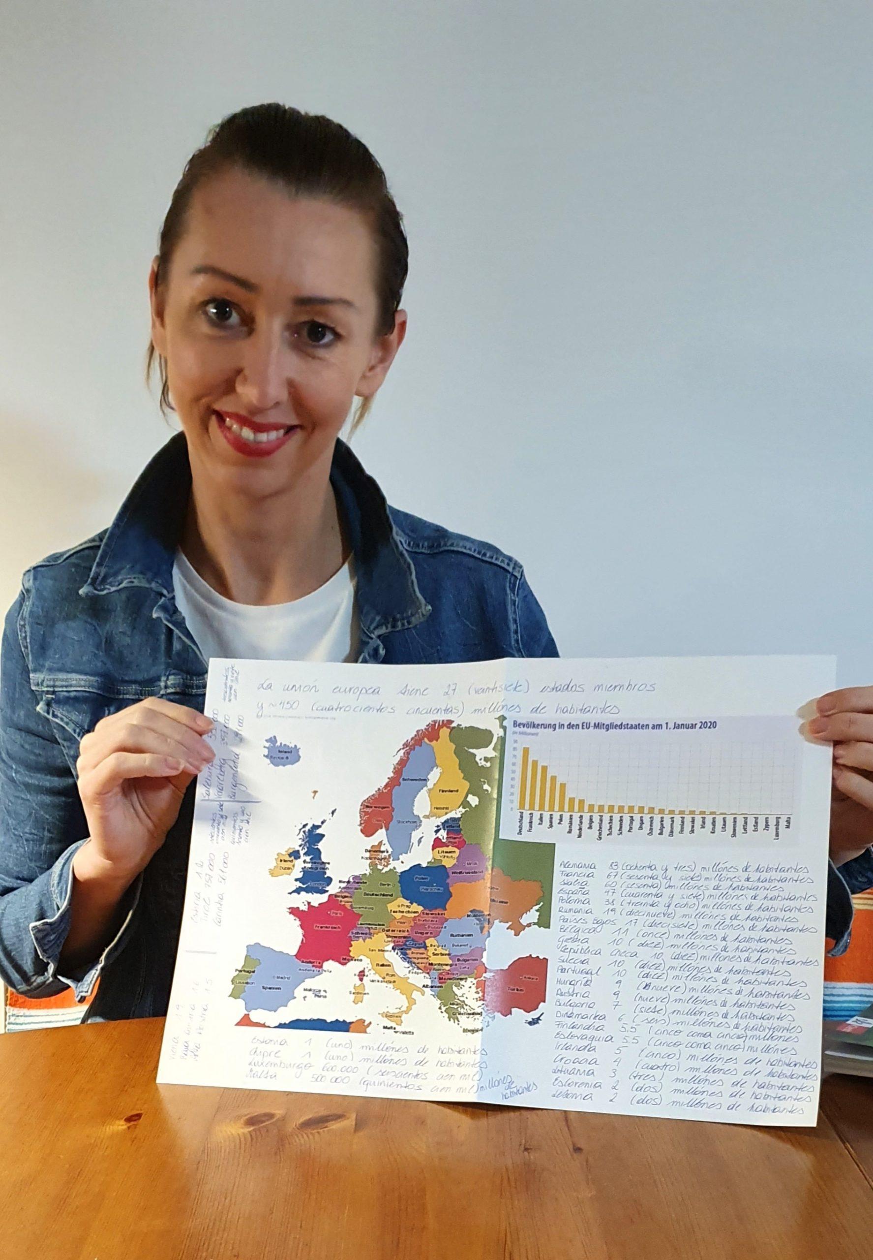Marion lern gern Spanisch in St. Pölten in der Sprachschule Spanisch2go